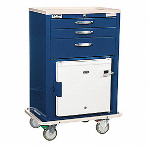 "20-1/2""D x 32""W x 44-1/2""H Steel Hyperthermia Cart, 1400 lb. Load Capacity"