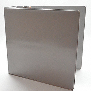 "3-Ring Binder,3"",Gray"