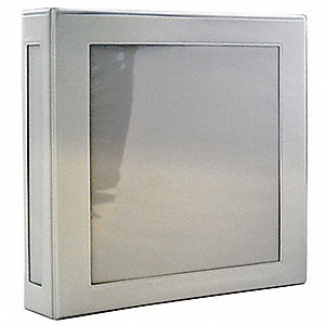 "White 1"" 3-Ring Binder, 8-1/2"" x 11"" Sheet Size, Vinyl Covered Chipboard, 220 Sheet Capacity - Binde"