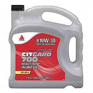 Motor Oil,Synthetic Blend,1 gal.,Bottle