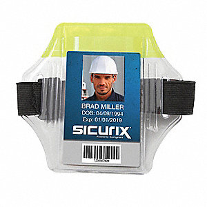 Arm Badge Holder, Vertical, PK12