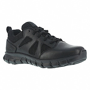 Military/Tactical Tactical Oxford Boots, Toe Type: Plain, Black, Size: 4-1/2