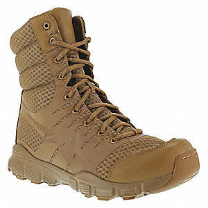 Military/Tactical Tactical Boots, Toe Type: Plain, Coyote, Size: 13