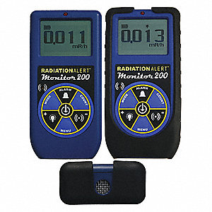 Radiation Survey Meter, LCD, NIST