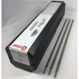 "14-1/2"" Stainless Steel Box Stick Electrode with 3/32"" Dia. and E316L AWS Classification"