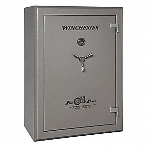 37 cu. ft. Gun Safe, 814 lb. Net Weight, 75 min. Fire Rating, Combination Dial Lock Style