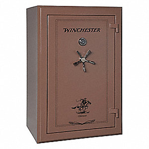 Gun Safe,1204 lb. Weight,40 cu. ft,Brown