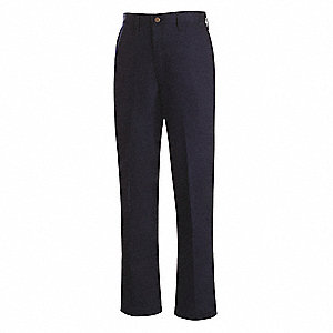"Navy Women's Flame Resistant Pants, UltraSoft®, Fits Waist Size: 35-1/2"", 32"" Inseam, 12.4 cal./cm2"