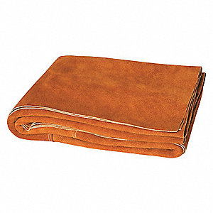 "Leather Welding Blanket Roll, 6 ft. H x 6 ft.W x 0.060"" Thick, Orange"