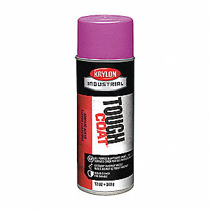 Tough Coat Rust Preventative Spray Paint in Gloss Purple for Metal, Steel, 12 oz.