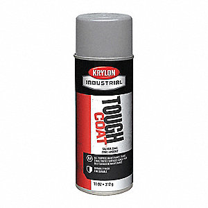 Tough Coat Rust Preventative Spray Paint in Gloss Silver for Metal, Steel, 12 oz.