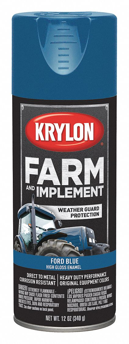 Ford Tractor Blue TRACTOR Agricultural Enamel Machinery GLOSS  Paint