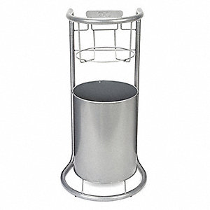 Dispenser Stand,Wipes,Centerpull,Silver