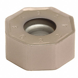 Octagon Milling Insert, ONMT 05T6ANE-ANER-L ACP200