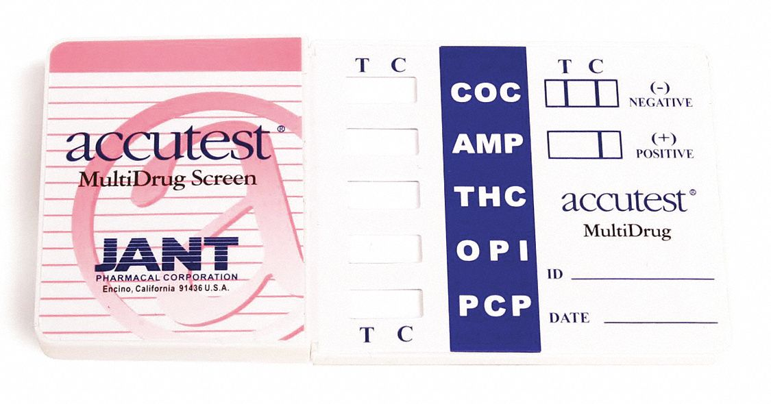 Urine Drug Test Kit, Detects BZO, COC, MET, OPI 300, THC; PK1
