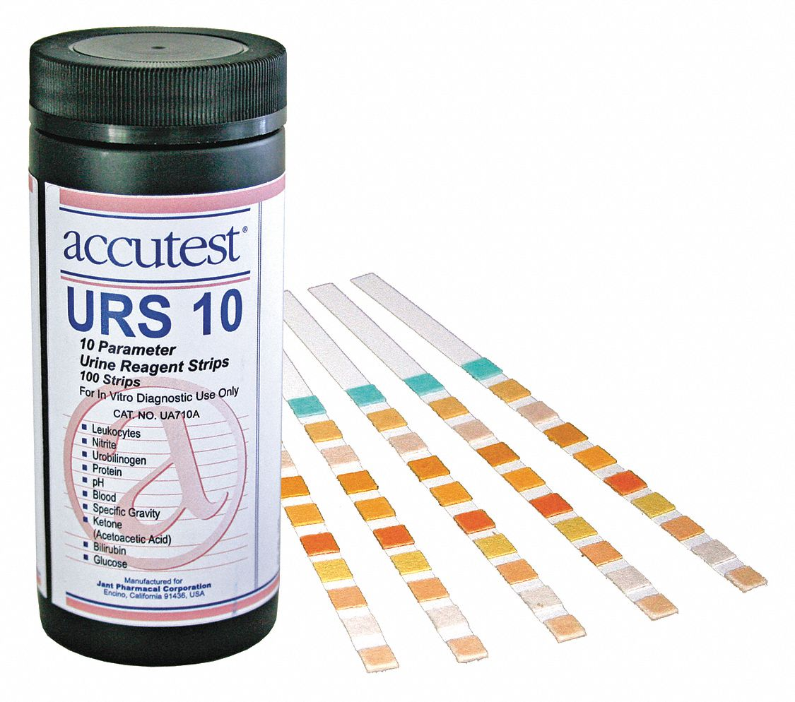 130 g HDPE Urine Reagent Strip with Shelf Life of 2 yr