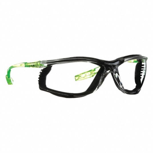 CCS Anti-Fog, Scratch-Resistant Safety Glasses , Clear Lens Color