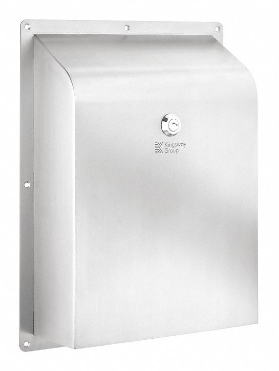 Paper Towel Dispenser,  No Series,  Silver,  (125) Multifold,  Manual
