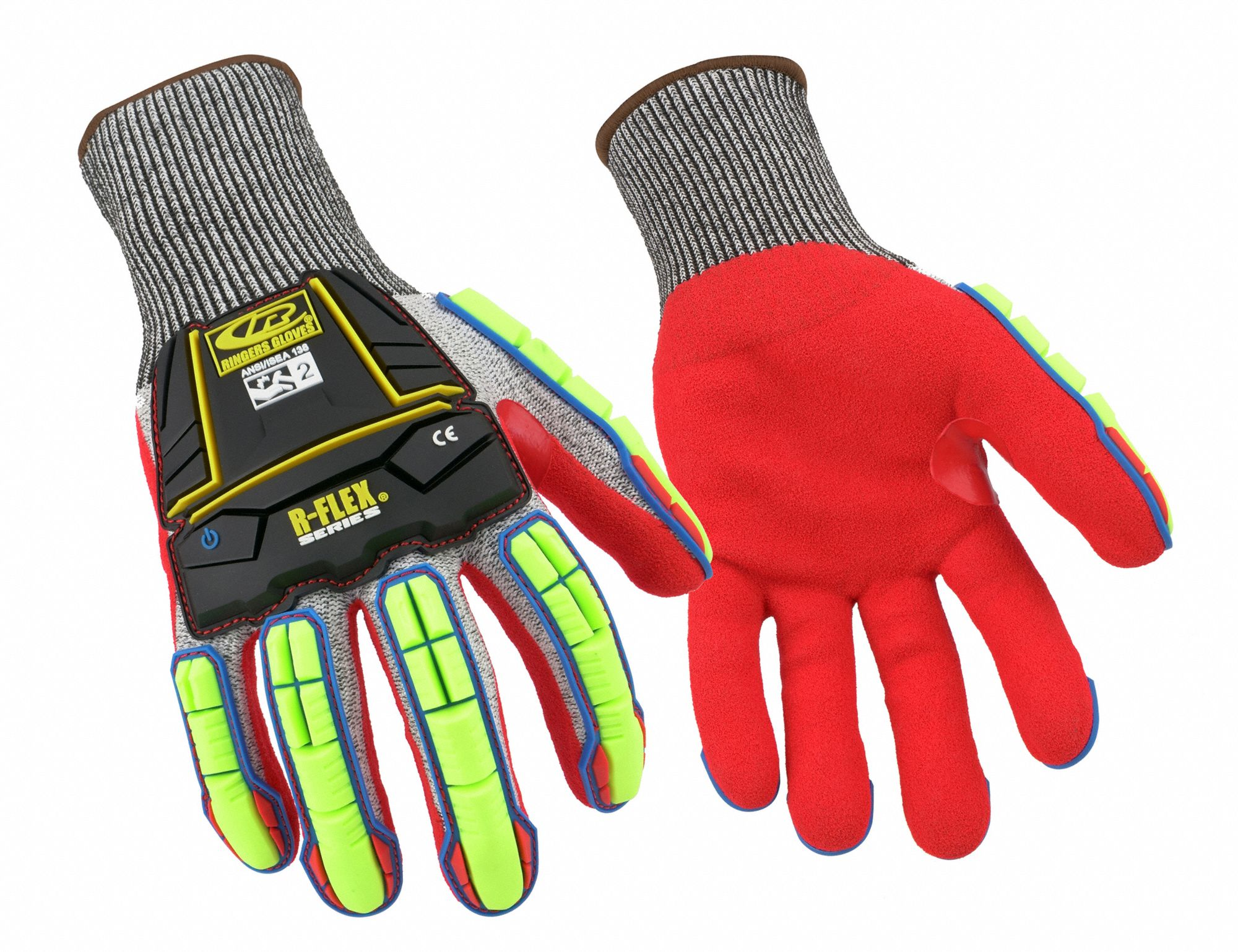Coated Gloves,  L,  1 PR