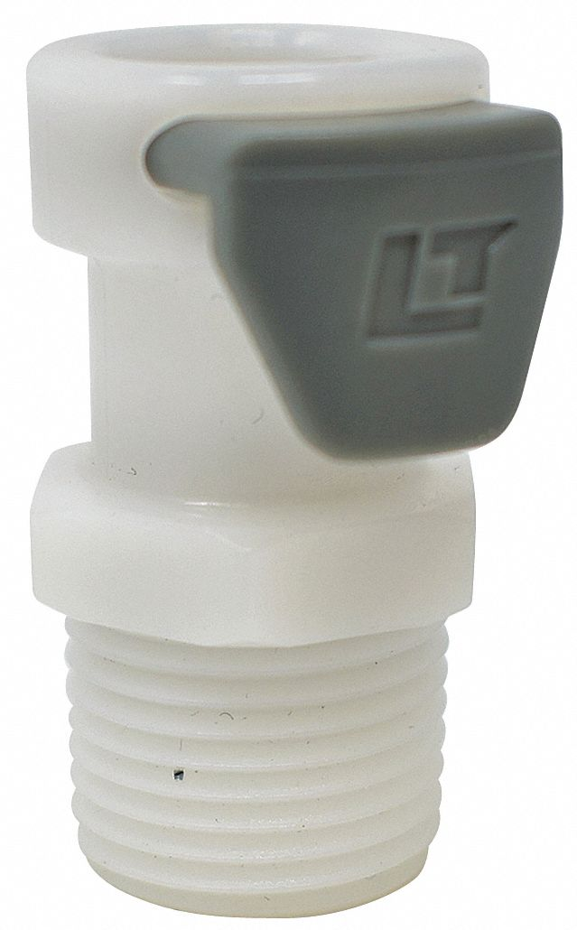 1 in Plastic Coupler; For Use With 70-0285, Mfr. No. 70-0283