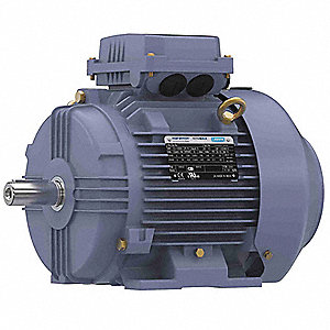 5 1/2 HP Metric Motor,3-Phase,3520 Nameplate RPM,230/460 Voltage,Frame 112M