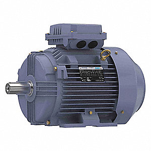 10 HP Metric Motor,3-Phase,3540 Nameplate RPM,230/460 Voltage,Frame 132S