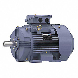 15 HP Metric Motor,3-Phase,1180 Nameplate RPM,230/460 Voltage,Frame 160L