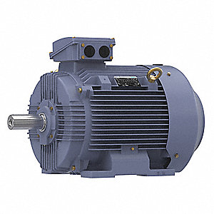 60 HP Metric Motor,3-Phase,1785 Nameplate RPM,230/460 Voltage,Frame 225M