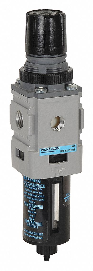 WILKERSON CB6-02-000 L16-02-000 FILTER-REGULATOR LUBRICATOR 1//4IN NPT D578807