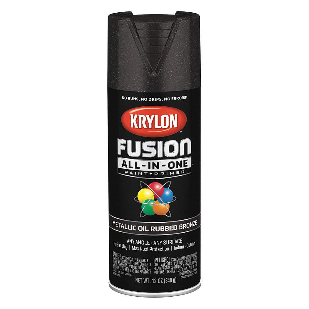 Krylon Fusion Metallic Spray Paint In