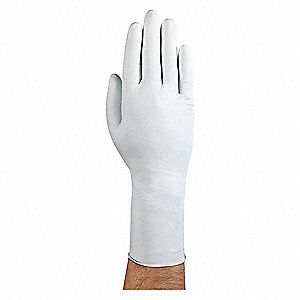 Disposable Gloves,  2XL,  Powder-Free,  6.00 mil Palm Thickness,  PK 90