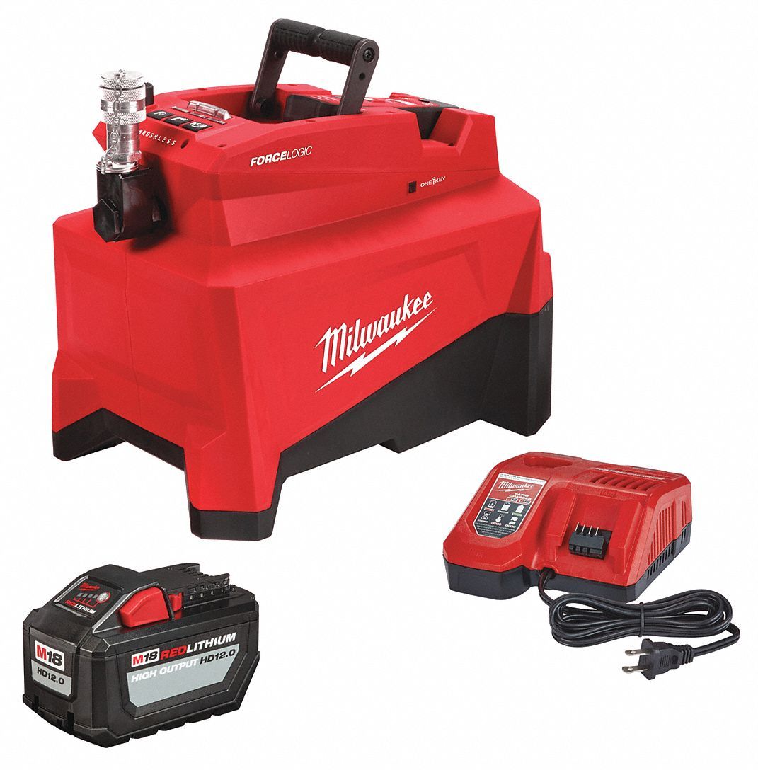 Battery Operated Hydraulic Pump Kit