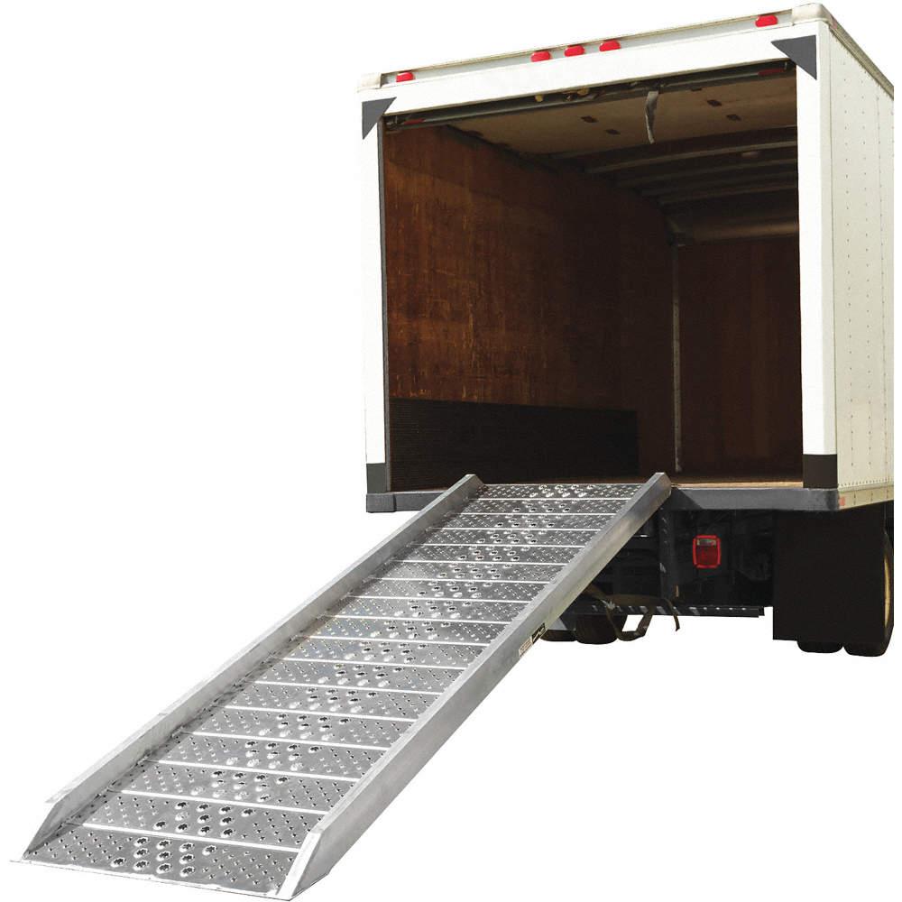 6 ft 2000 lb x 38 Non-Skid Walk Ramp; Load Capacity Service Height Range 6 to 23