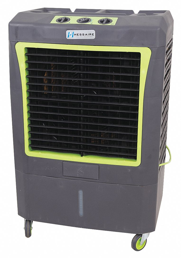 Portable Evaporative Cooler,  17 in Blade Diameter,  Average Coverage Area 950 sq ft,  1/5 hp HP