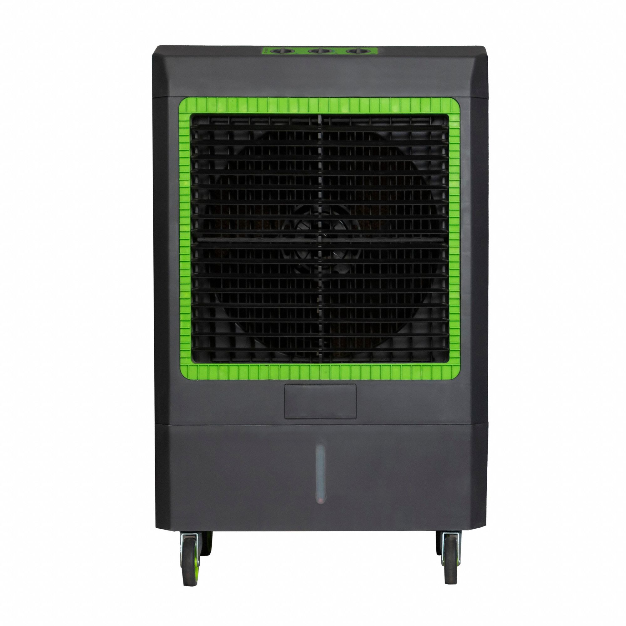 Portable Evaporative Cooler,  19 in Blade Diameter,  Average Coverage Area 1600 sq ft,  1/3 hp HP