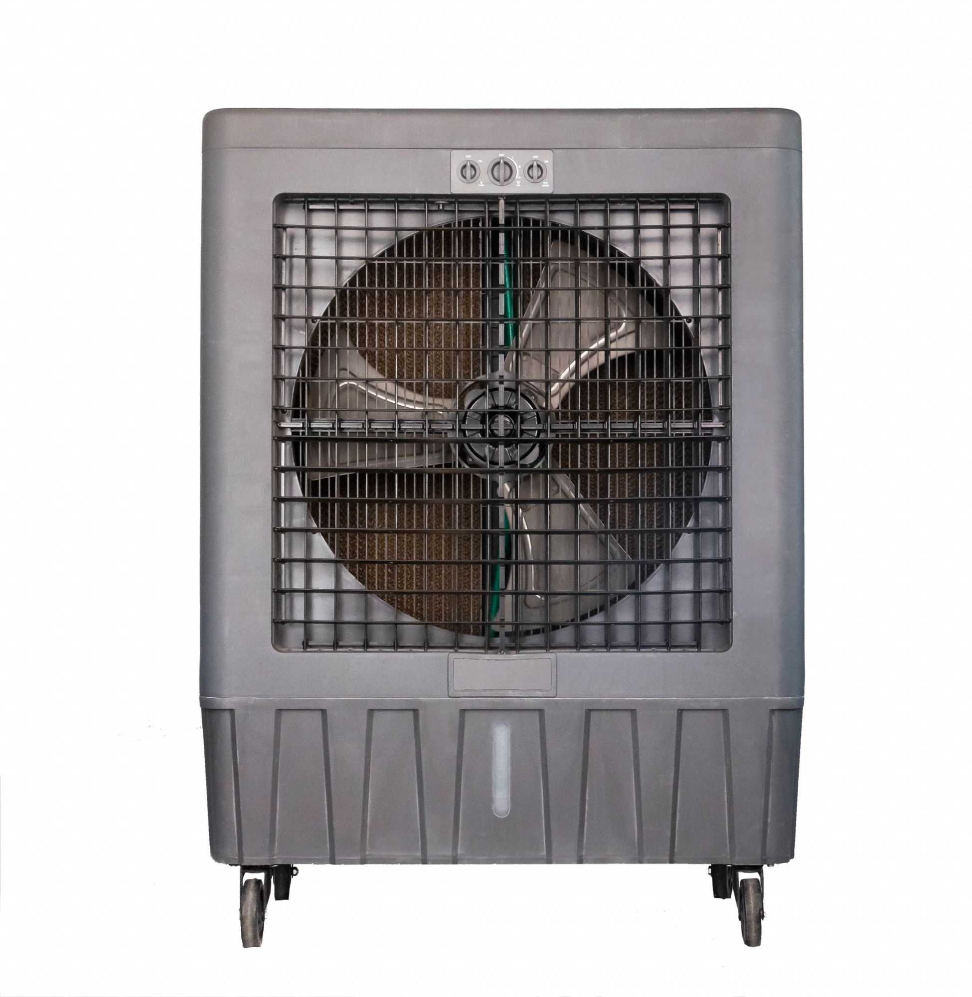 Portable Evaporative Cooler,  30 in Blade Diameter,  Average Coverage Area 3000 sq ft,  3/4 hp HP