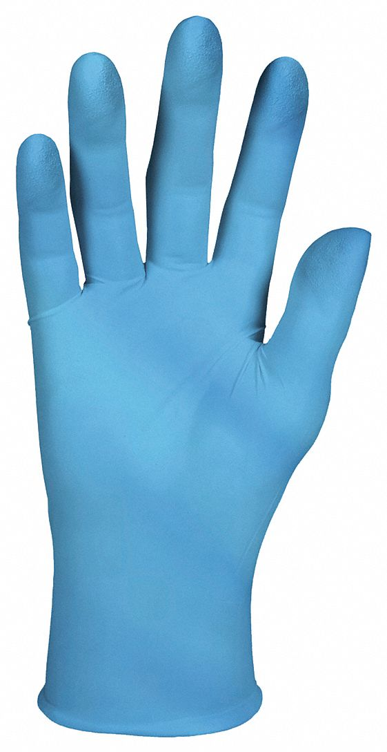 Nitrile,  Disposable Glove,  L,  Powder-Free,  2.0 mil Palm Thickness