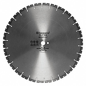"18"" Wet Diamond Saw Blade, Segmented Rim Type, Application: Demolition"
