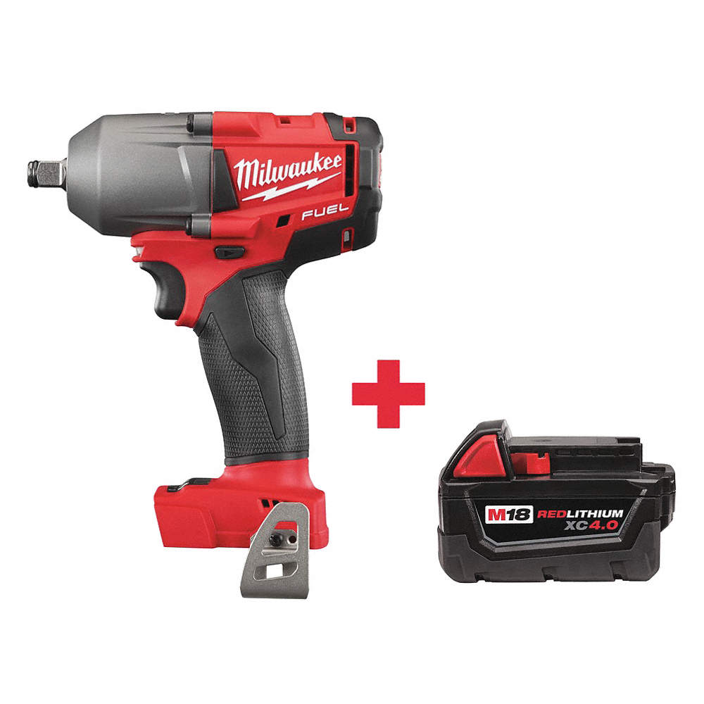 1 2 Cordless Impact >> 1 2 Cordless Impact Wrench 18 0 Voltage 600 Ft Lb Max Torque Battery Included