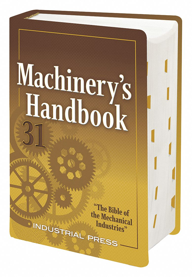 Reference Book,  Machining,  Large Print,  31st. Book Edition,  Hardcover