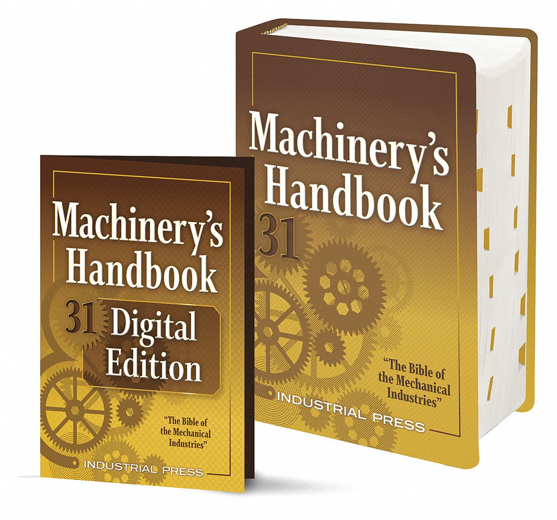 Reference Book,  Machining,  Toolbox and Digital Combo,  31st. Book Edition,  Hardcover