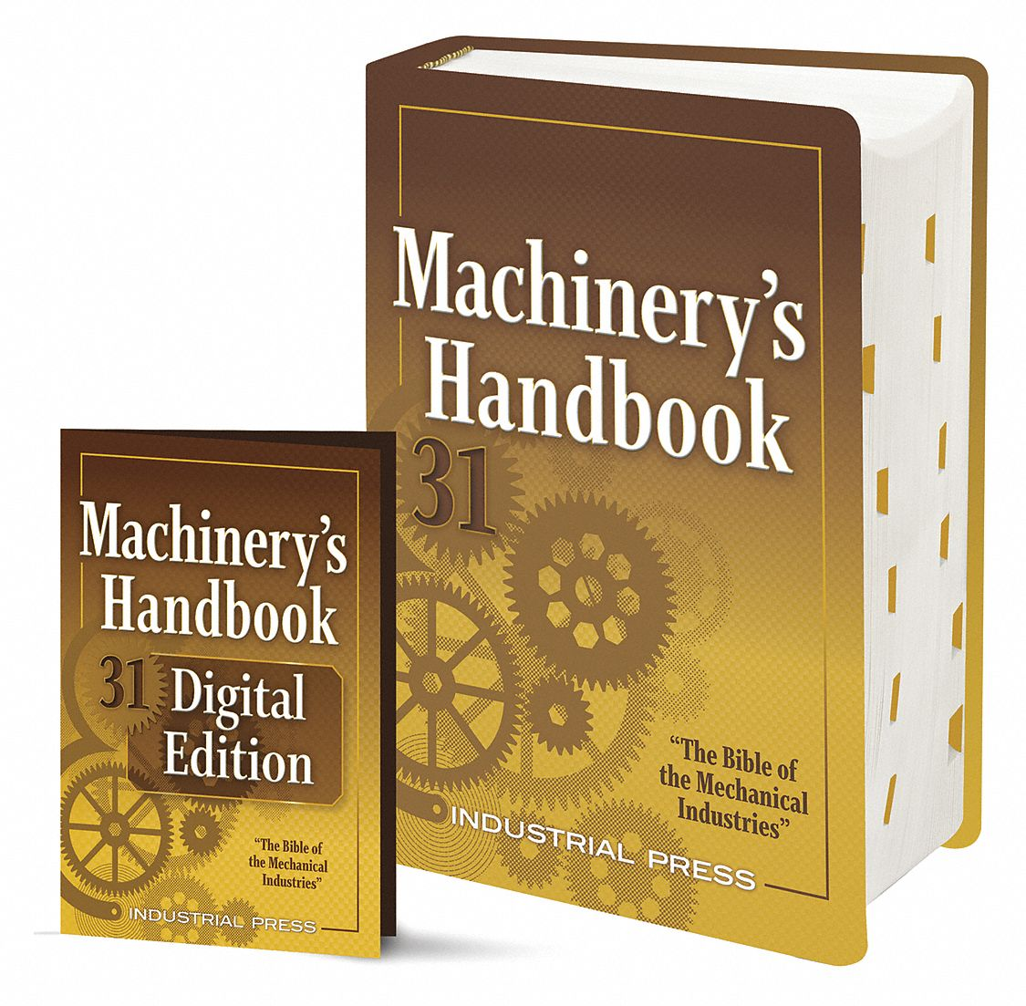 Reference Book,  Machining,  Large Print, Digital Combo,  31st. Book Edition,  Hardcover