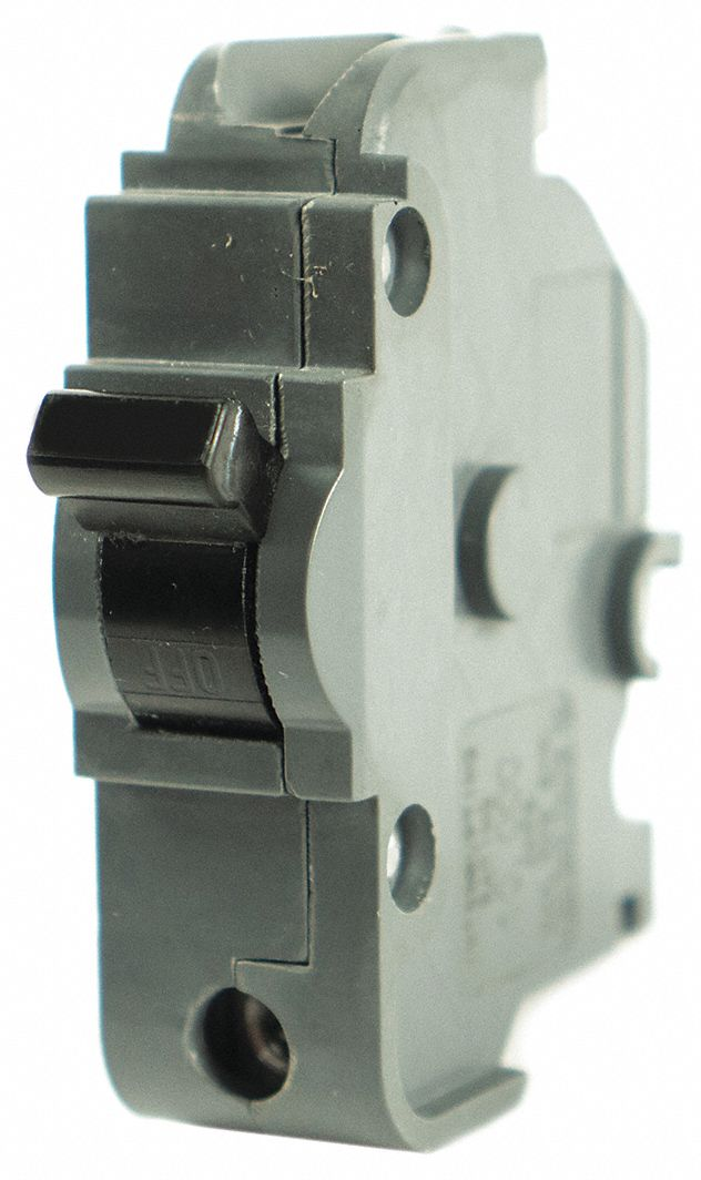 Bolt On Circuit Breaker, 20 A Amps, Number of Poles:  1, 120V AC AC Voltage Rating