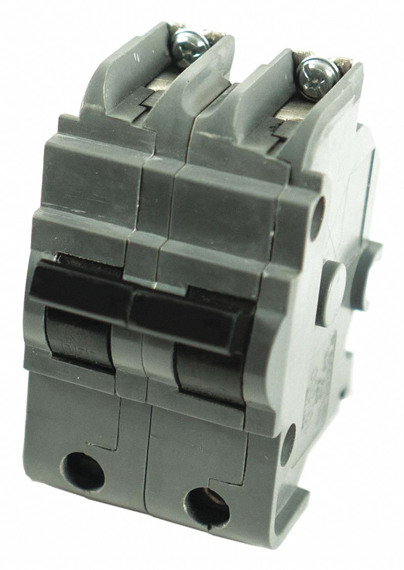 Bolt On Circuit Breaker, 30 A Amps, Number of Poles:  2, 120/240V AC AC Voltage Rating