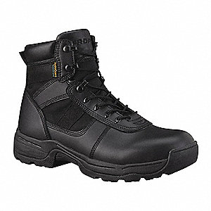 Athletic High Boots, Toe Type: Plain, Black, Size: 5-1/2
