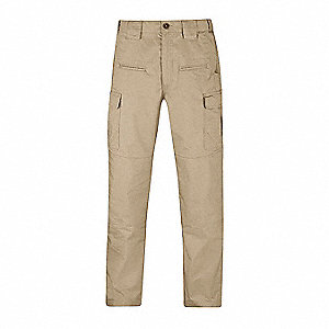 "Men's Tactical Pants. Size: 34"" x 36"", Fits Waist Size: 34"", Inseam: 36"", Khaki"