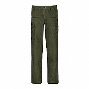 "Women's Tactical Pants. Size: 12, Inseam: 37"", Olive"