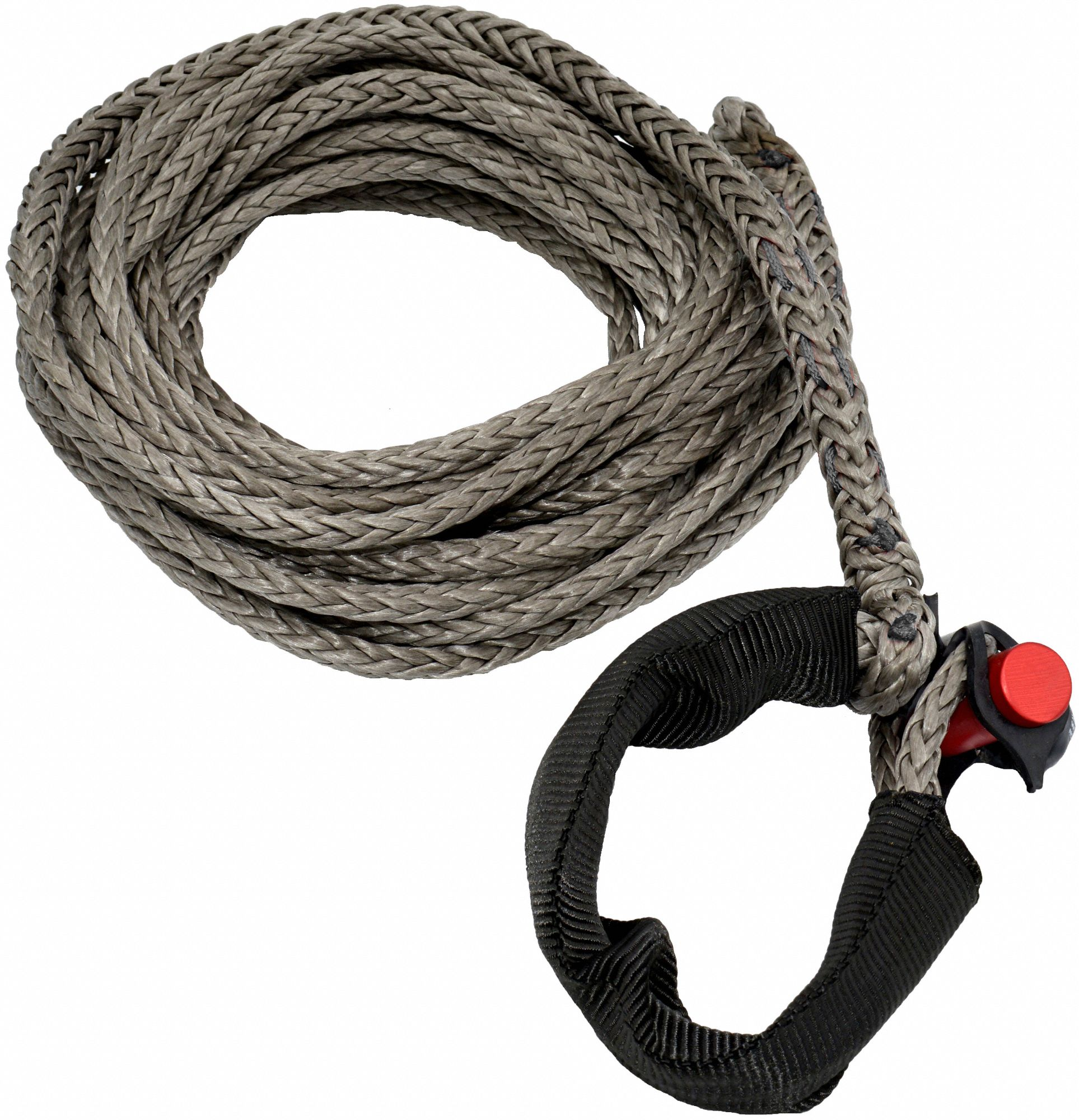 25 ft Synthetic Winch Line with 4400 lb Working Load Limit