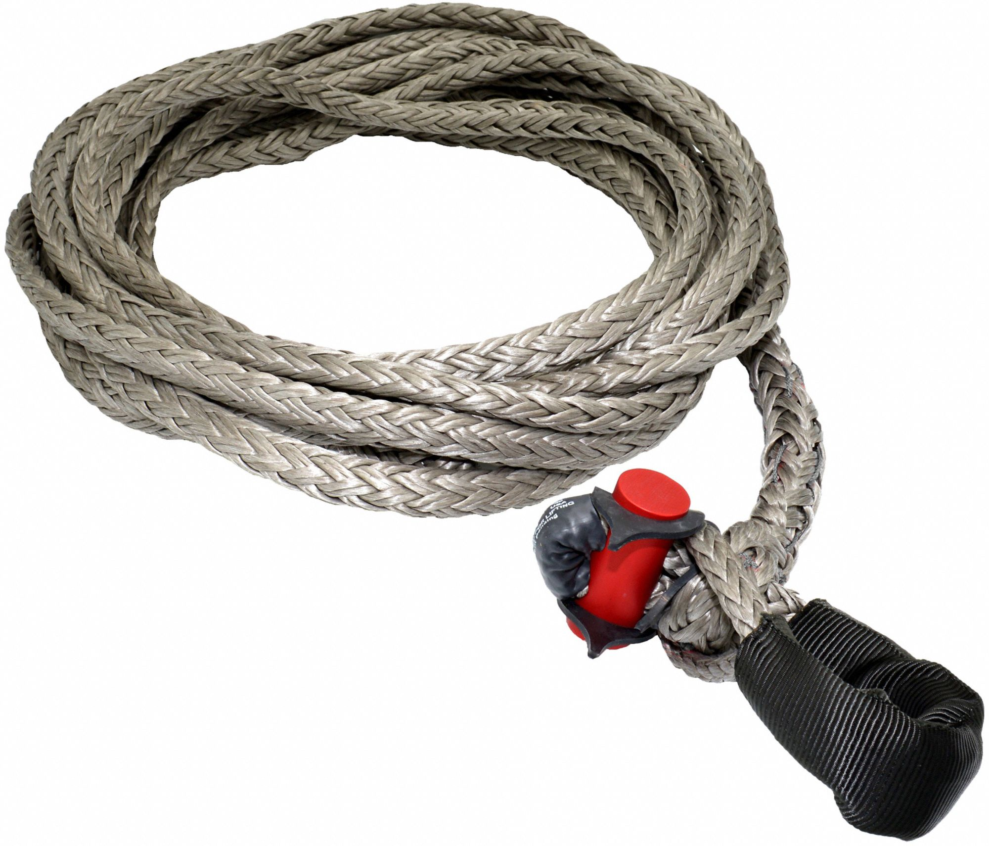 25 ft Synthetic Winch Line with 10,700 lb Working Load Limit