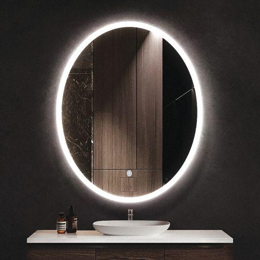 Ketcham Mirror Led Height In 30 In Width In 20 In 56gj74 Ell 2030 Grainger